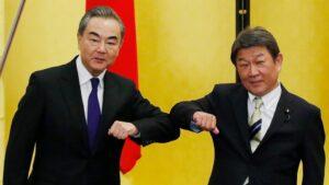 China memperingatkan Jepang karena berbicara sebelum Biden, Suga bertemu