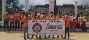 Puluhan Aktivis UNJA Deklarasikan KKIPP, Siap Menjadi Wadah Perjuangan Masyarakat Jambi untuk Palestina