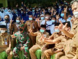 Camat Pamenang Barat Haidir  Sambut Meriah Kunjungan Kerja Gubernur Jambi