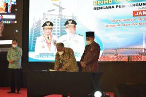 Wakil Gubernur Jambi Paparkan Rencana Pembangunan Jambi Mantap Di Acara Musrembang RPJMD