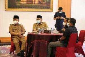 Undang Anggota DPRD Coffee Morning Al Haris Minta Dukungan Bangun Jambi