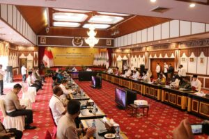 Gubernur Al Haris Perketat Protokol Kesehatan Pelaksanaan MTQ Ke 50 Tingkat Provinsi Jambi: Pandemi Ajarkan Kita Hidup Sehat