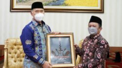Ketua DPD PKS Kota Jambi Hizbullah Kunjungi Walikota Jambi Syarif Fasha